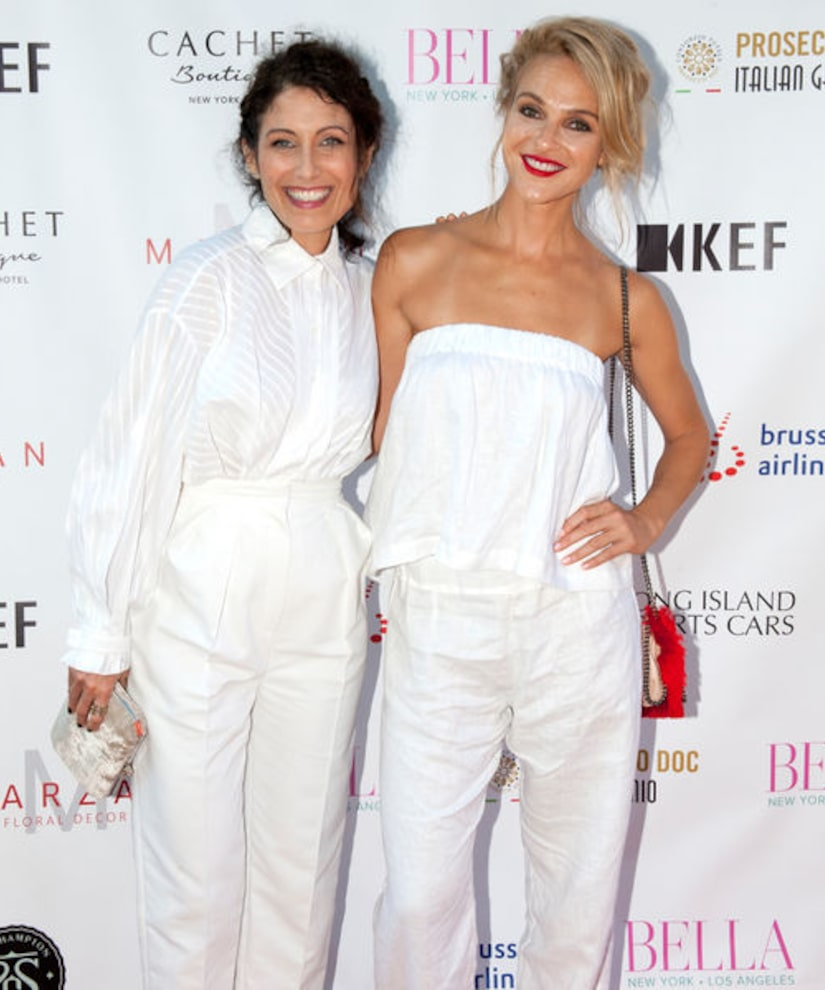 Lisa Edelstein and Beau Garrett Party with BELLA New York in the Hamptons!