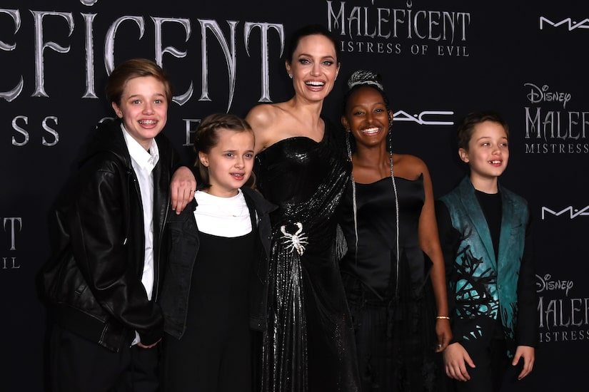 Angelina Jolie Says Her Kids' Mother's Day Surprises Always Make Her Cry, Plus: She Talks New Thriller