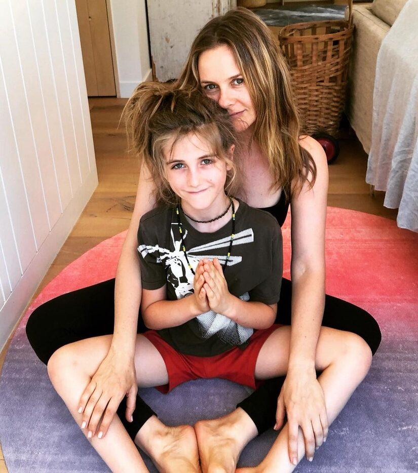 Alicia Silverstone's Son Bear,