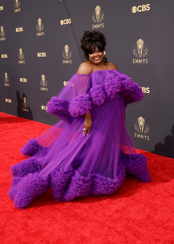 Nicole Byer 'Nailed It!' with Her Emmys Look!