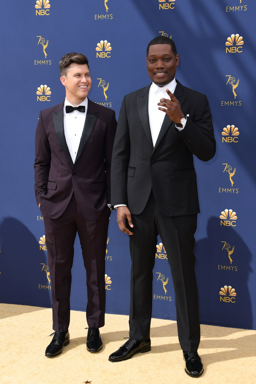 Colin Jost Jokes He's 'Pretty Concerned' About Michael Che's Wedding Gift, Plus: He Talks 'Tom & Jerry'