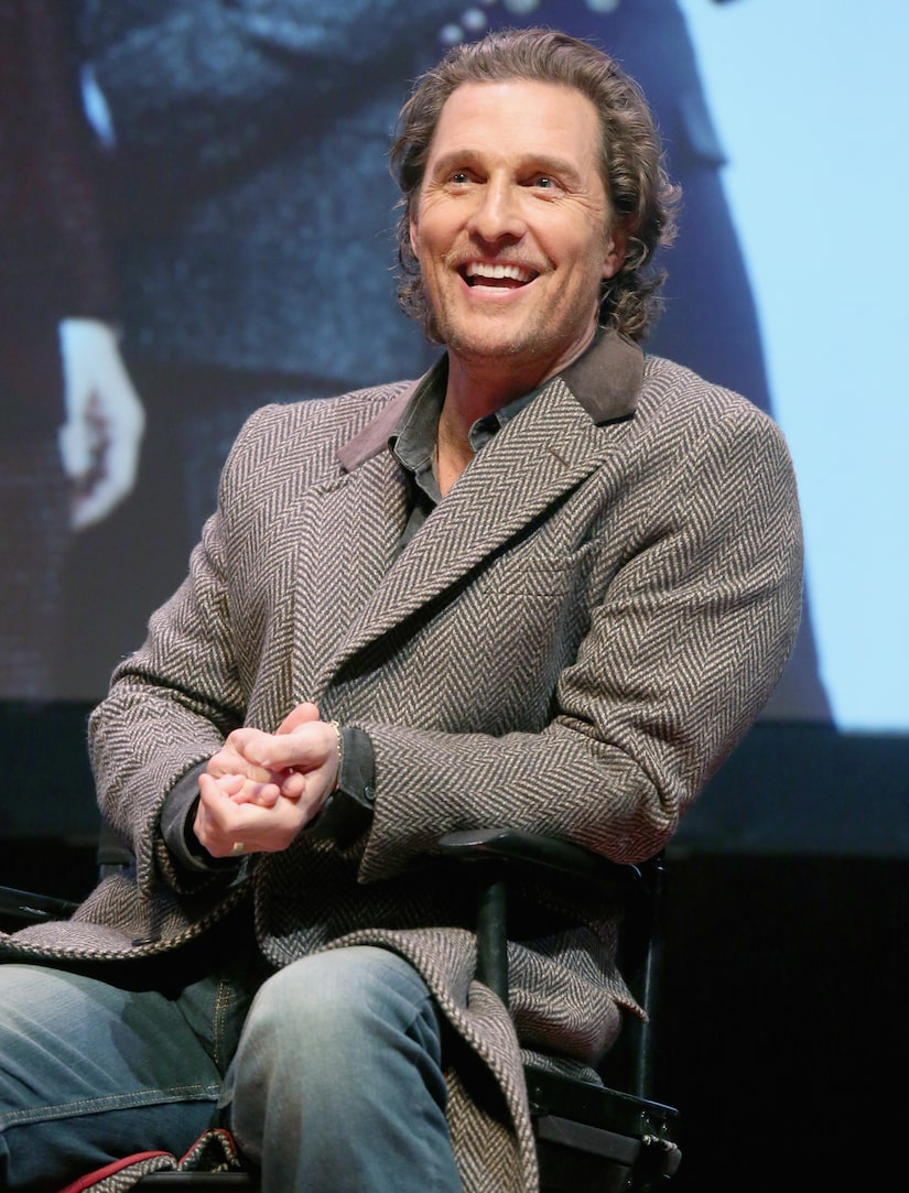 Matthew McConaughey Clears the Air on 'Titanic' Rumors