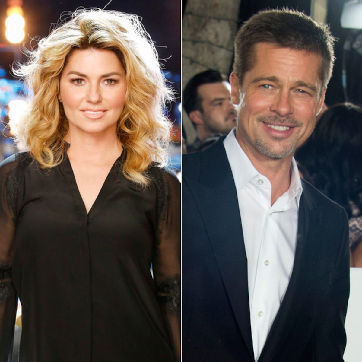 Has Brad Pitt Reached Out To Shania Twain About That Don T Impress Me Much Lyric
