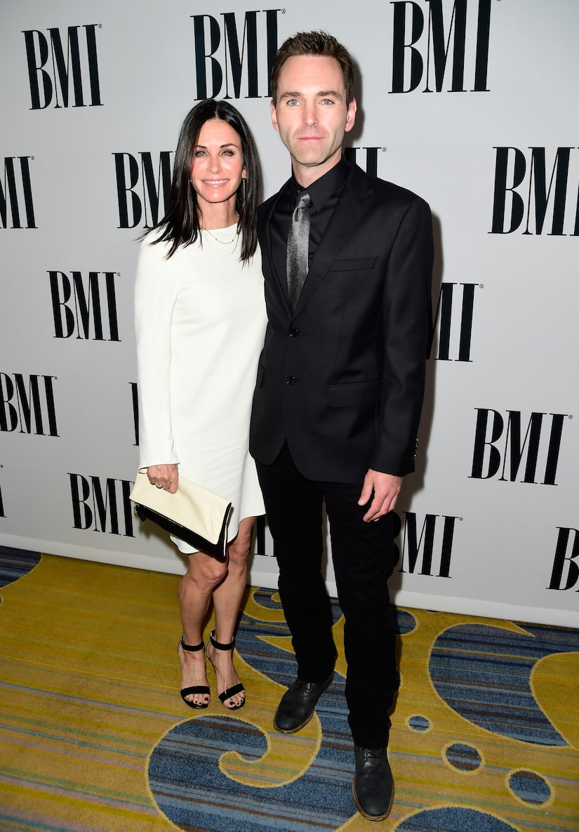 Courteney Cox & Johnny McDaid Reunite After 9 Months Apart Due to Pandemic