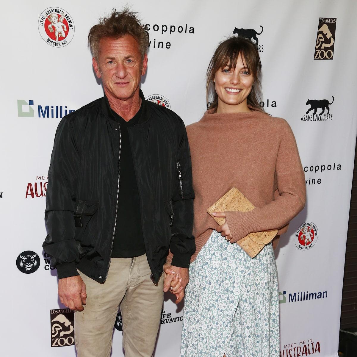 Leila and george penn sean Sean Penn