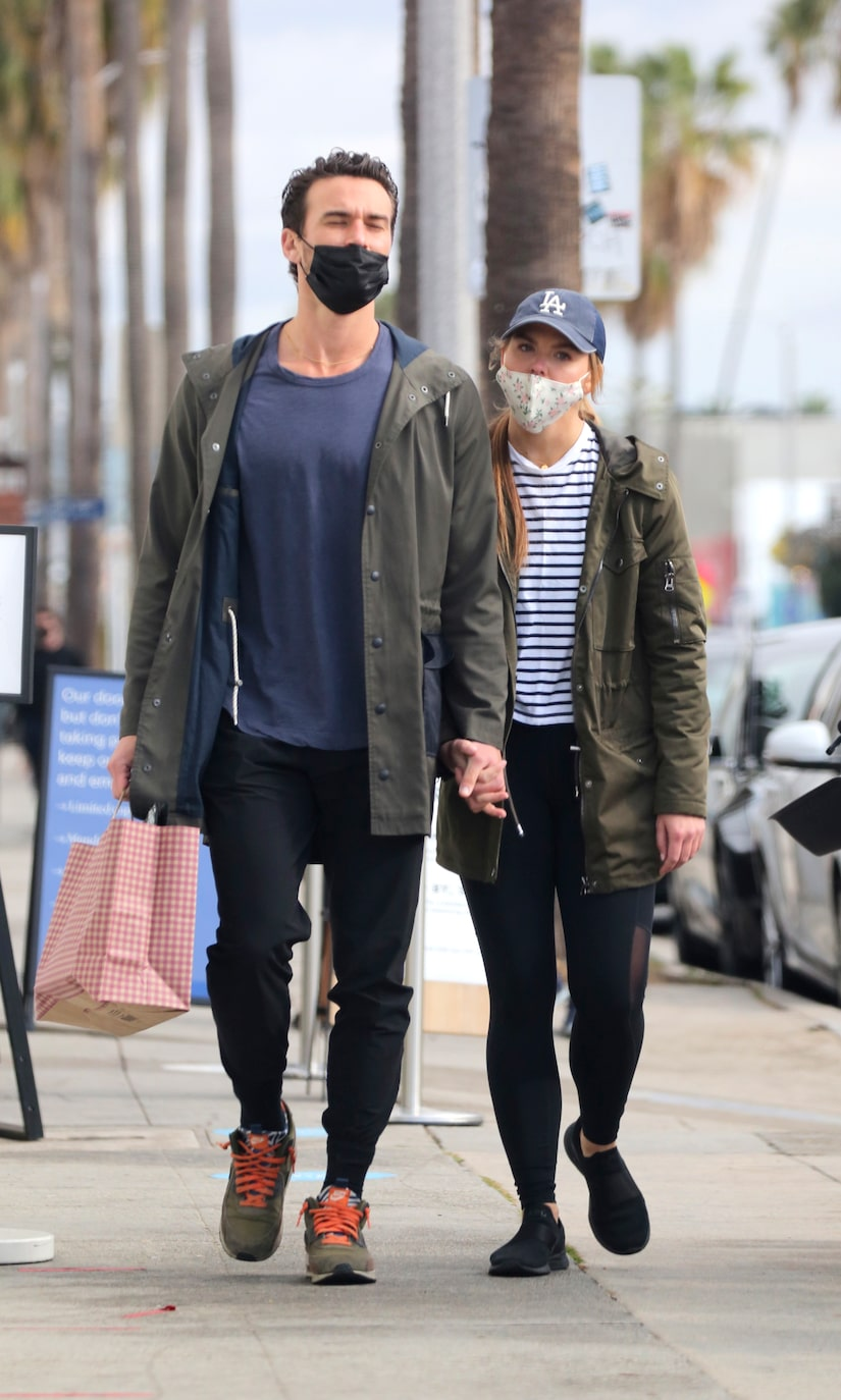 Pics! Hannah Brown Spotted with New Man Adam Woolard