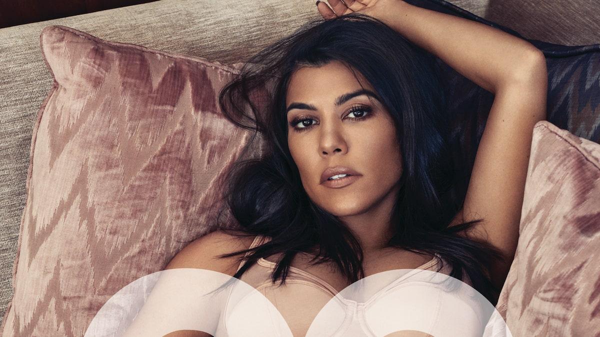 Heres Why Kourtney Kardashian Kept Stripping Down on