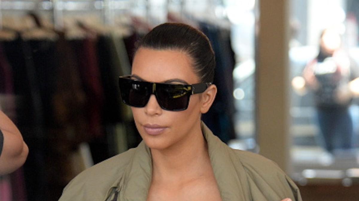 Kim Kardashian, Makeup, contour, face, video, Rob Scheppy